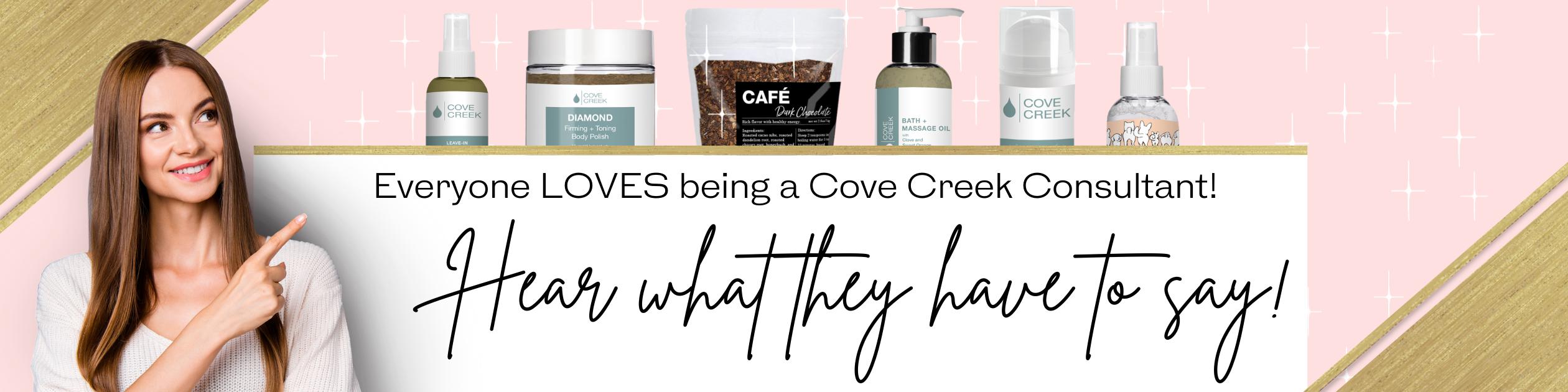 Cove Creek Testimonials