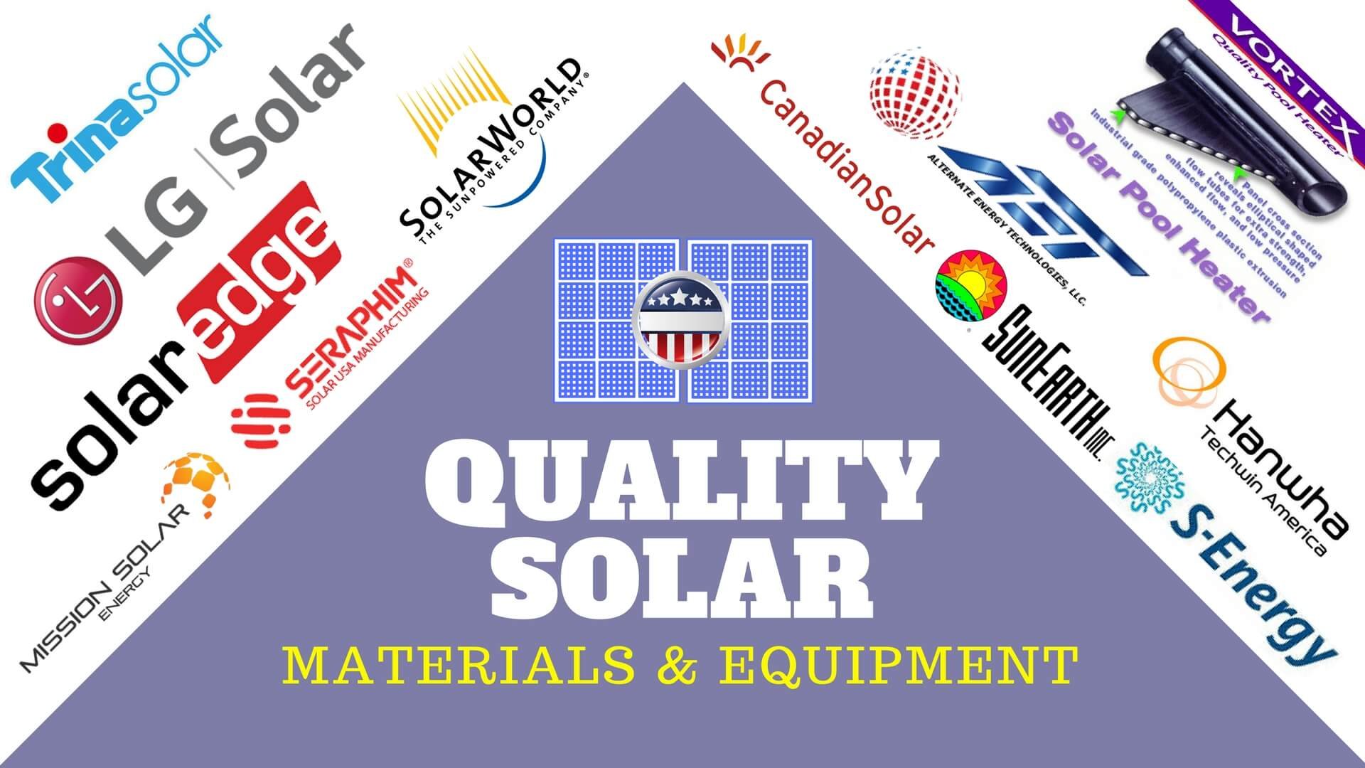 We offer quality, Tier 1 Solar Energy Materials and Equipment, Solar Electric Systems, Solar Hot Water Systems, Solar Pool Heating Systems for Residential and Commercial Applications